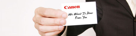 Contact - Canon India - Personal
