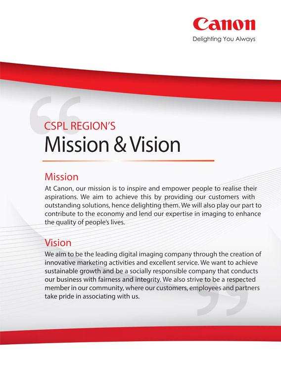 Mission Canon Malaysia Personal
