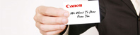 Contact - Canon Singapore - Personal