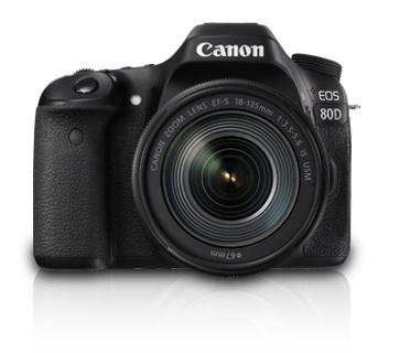 EOS 80D Kit II (EF-S18-135 IS USM) - Canon India - Personal