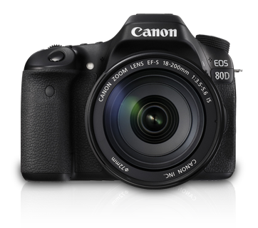 EOS 80D Kit III (EF-S18-200 IS) - Canon Malaysia - Personal