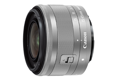 EF-M15-45mm f/3.5-6.3 IS STM (Silver)
