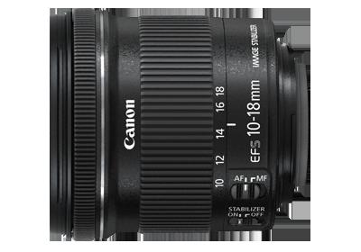EF-S10-18mm f/4.5-5.6 IS STM