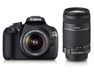 EOS 1200D Dual Kit (EF S18-55 IS II & EF S55-250 IS II)