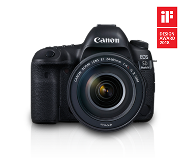 EOS 5D Mark IV Kit (EF 24 - 105 IS II USM) - Canon India - Personal