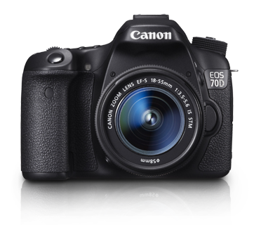 Canon DSLR EOS-70D Kit 18-55mm