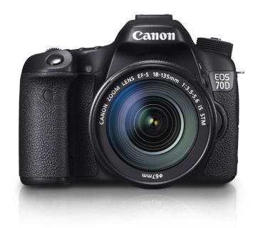 EOS 70D Kit II (EF-S18-135 IS STM) - Canon Singapore - Personal