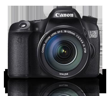 Canon DSLR EOS-70D Kit 18-135mm