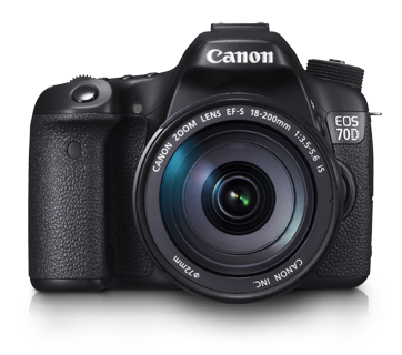 EOS 70D Kit III (EF-S18-200 IS) - Canon Singapore - Personal