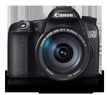 Canon DSLR EOS-70D Kit 18-200mm