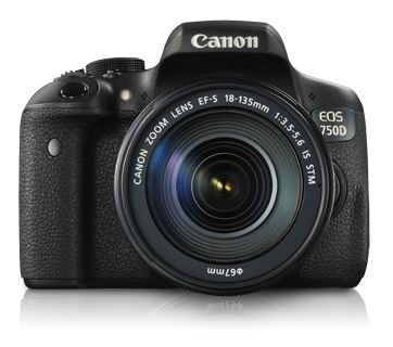 EOS 750D Kit II (EF-S18-135mm IS STM) - Canon Malaysia - Personal