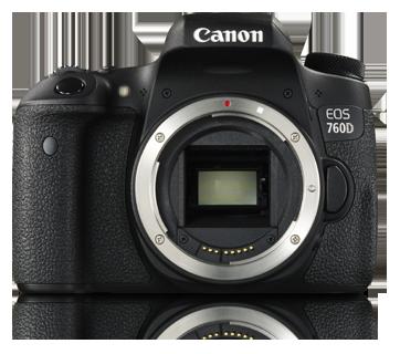 EOS 760D (Body) - Canon India - Personal