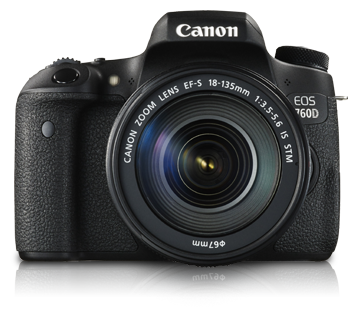 EOS 760D Kit (EF-S18-135mm IS STM) - Canon India - Personal