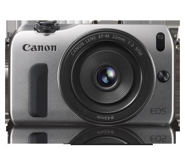 Canon Mirrorless EOS-M Kit 22mm + M Adaptor Black