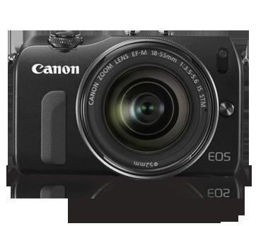 Canon Mirrorless EOS-M Kit 18-55mm + 22mm + 90EX