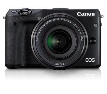EOS M3 Kit II (EF-M18-55 IS STM & EF-M55-200 IS STM) - Canon Malaysia - Personal