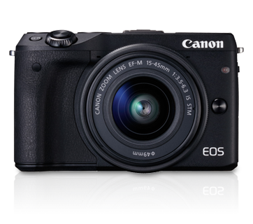 EOS M3 Kit II (EF-M15-45 IS STM & EF-M55-200 IS STM) - Canon Singapore - Personal