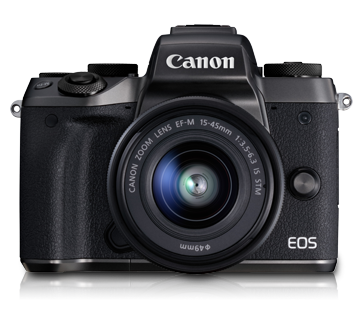 EOS M5 Kit (EF-M15-45 IS STM) - Canon Malaysia - Personal