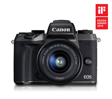 EOS M5 Kit (EF-M15-45 IS STM) - Canon Singapore - Personal