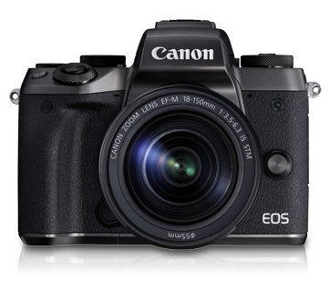 EOS M5 Kit (EF-M18-150 IS STM) - Canon Malaysia - Personal