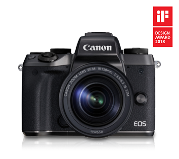 EOS M5 Kit (EF-M18-150 IS STM) - Canon Singapore - Personal
