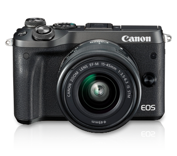 EOS M6 Kit (EF-M15-45 IS STM) - Canon Singapore - Personal