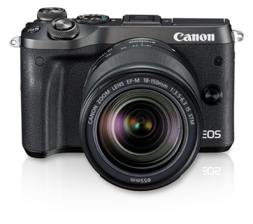 EOS M6 Kit (EF-M18-150 IS STM) - Canon Singapore - Personal