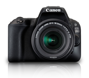 EOS 200D Kit (EF-S18-55 IS STM) - Canon Malaysia - Personal