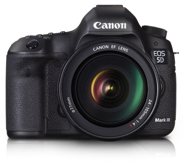 EOS 5D Mark III Kit (EF 24-105 F4L IS USM) - Canon India - Personal