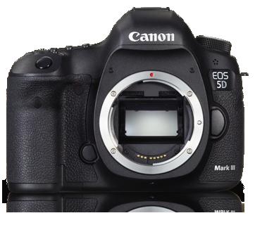 Canon DSLR EOS-5D Mark 3 Body