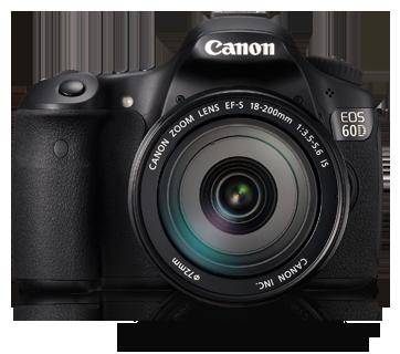 Canon DSLR EOS-60D Kit 18-200mm