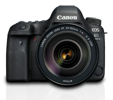 EOS 6D Mark II Kit (EF24-105mm f/4L IS II USM) - Canon India - Personal