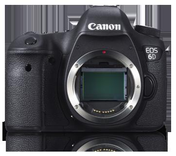 Canon DSLR EOS-6D Body