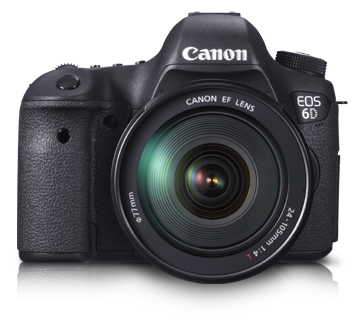 EOS 6D Kit (EF 24-105mm IS USM) - Canon India - Personal