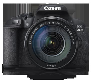 Canon DSLR EOS-700D Kit 18-135mm IS STM