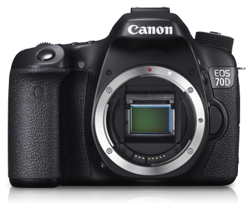 Canon DSLR EOS-70D Body