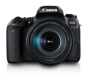 EOS 77D Kit (EF-S18-135 IS USM) - Canon India - Personal