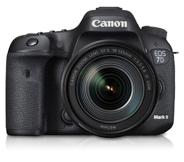 EOS 7D Mark II Kit (EF-S18-135mm IS USM & W-E1) - Canon Malaysia - Personal