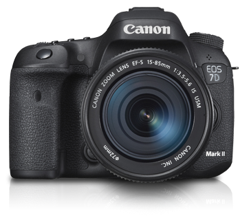 EOS 7D Mark II Kit II (EF-S15-85mm IS USM) - Canon Malaysia - Personal