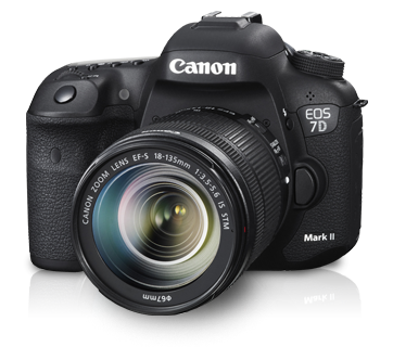 EOS 7D Mark II Kit (EF-S18-135mm f3.5-5.6 IS STM)