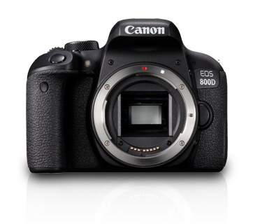EOS 800D (Body) - Canon India - Personal