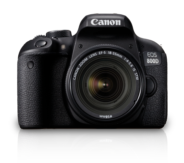 EOS 800D Kit (EF S18-55 IS STM) - Canon India - Personal