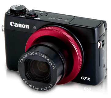 PowerShot G7 X (Red-ring Edition) - Canon Singapore - Personal