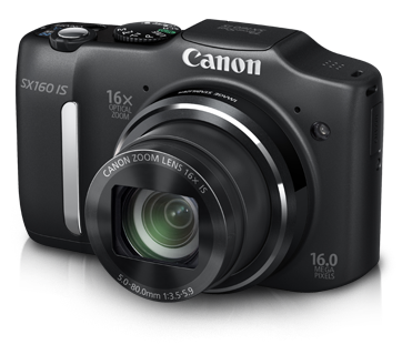 PowerShot SX160 IS - Canon India - Personal