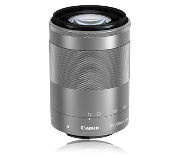 EF-M55-200mm f/4.5-6.3 IS STM (Silver)