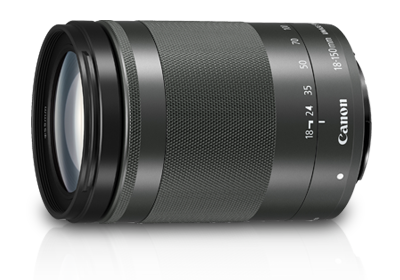 EF-M18-150mm f/3.5-6.3 IS STM (Graphite)