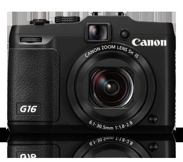 Máy chụp ảnh Canon PowerShot G16 12. 1 MP CMOS Digital Camera